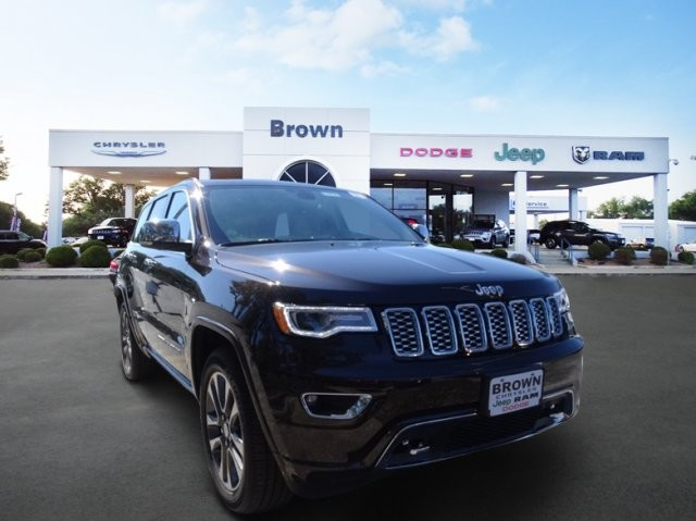 New 2017 JEEP Grand Cherokee Overland Sport Utility in Devine ...