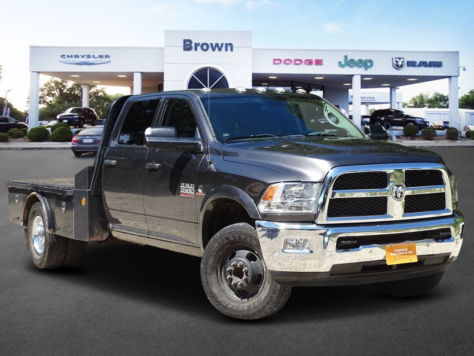 Pre-Owned 2017 Ram 3500 Chassis Cab Tradesman