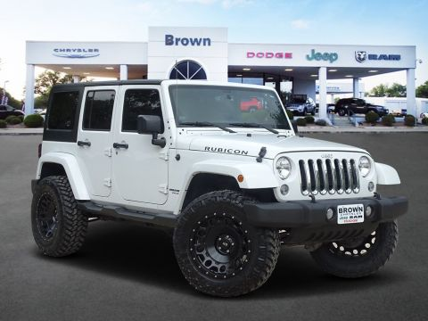 Pre-Owned 2016 Jeep Wrangler Unlimited Rubicon With Navigation & 4WD