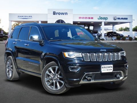 Pre-Owned 2018 Jeep Grand Cherokee Overland RWD Sport Utility