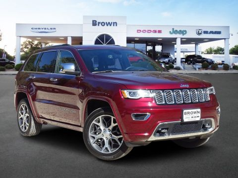 Pre-Owned 2019 Jeep Grand Cherokee Overland With Navigation & 4WD