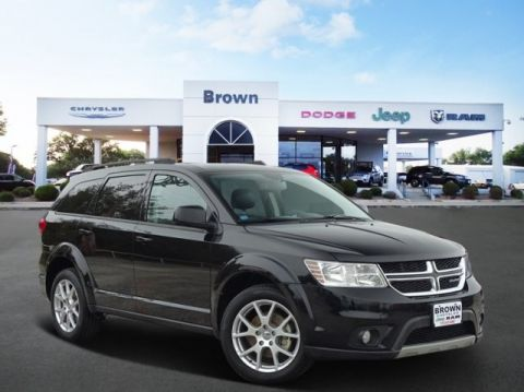 PRE-OWNED 2014 DODGE JOURNEY FWD 4DR SXT FRONT WHEEL DRIVE SUV