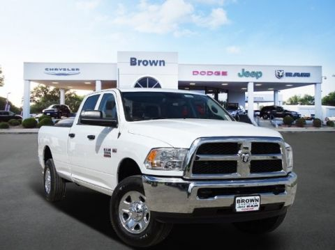 NEW 2018 RAM 3500 TRADESMAN CREW CAB 4X4 8' BOX