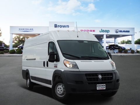 New 2018 RAM ProMaster 3500 High Roof 159 WB EXT